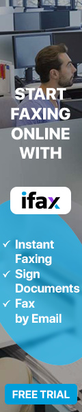 iFax Online Faxing banner